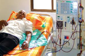 The state-of-the-art Dialysis Unit at MIOT Hospitals in Chennai, Tamil Nadu, India, affiliated to International University School of Medicine (IUSOM), which also has a Branch Campus, namely, IUSOM - Michigan Clinical Campus, Dearborn, Michigan, USA