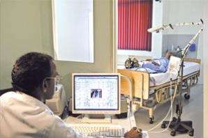 Sleep Lab for Neurology & Neurosciences at MIOT Hospitals in Chennai, Tamil Nadu, India, affiliated to International University School of Medicine (IUSOM), which also has a Branch Campus, namely, IUSOM - Michigan Clinical Campus in Dearborn, Michigan, USA