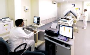 Nuclear Scan at MIOT Hospitals in Chennai, Tamil Nadu, India, affiliated to International University School of Medicine (IUSOM), which also has a Branch Campus, namely, IUSOM - Michigan Clinical Campus in Dearborn, Michigan, USA